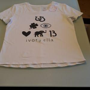 Ivory Ella Tee